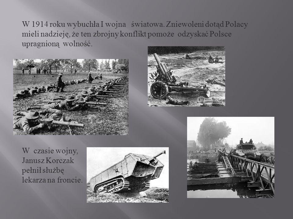 W 1914 roku wybuchła I wojna światowa