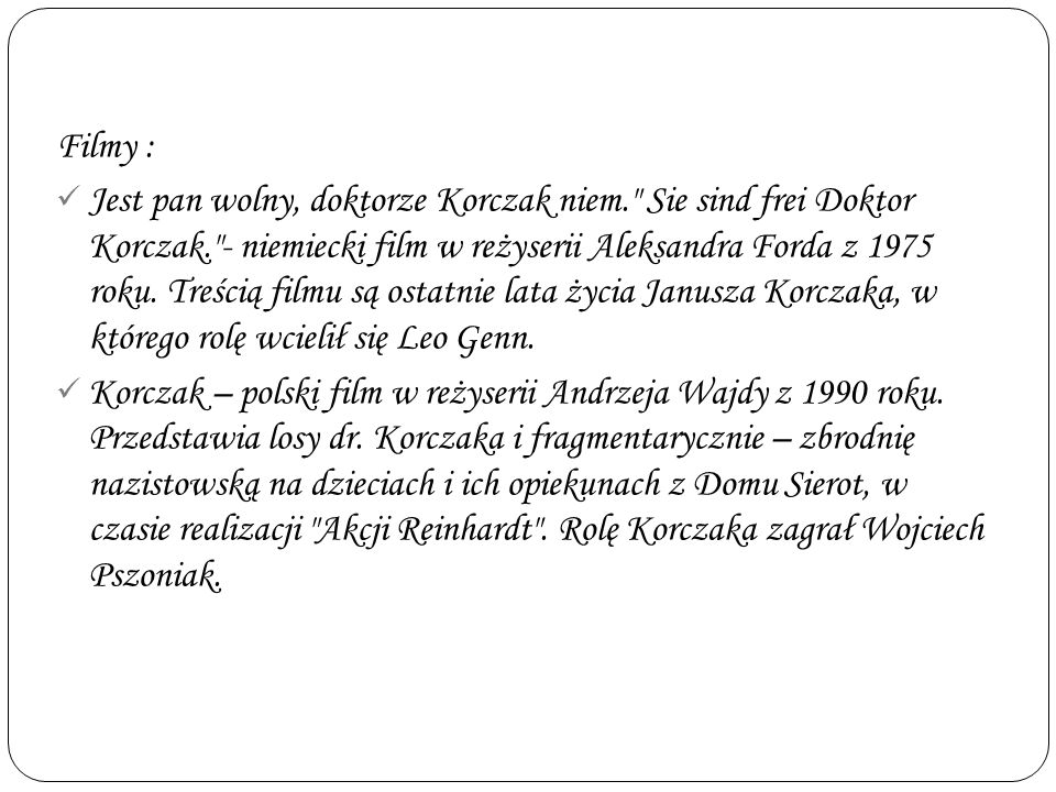 Filmy :