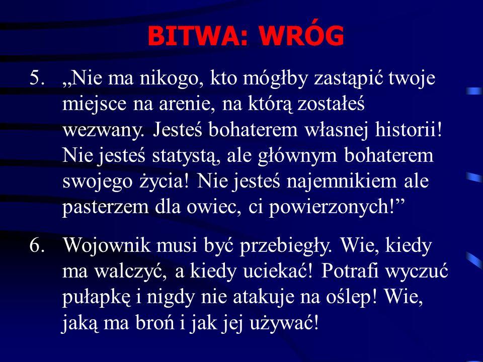 BITWA: WRÓG