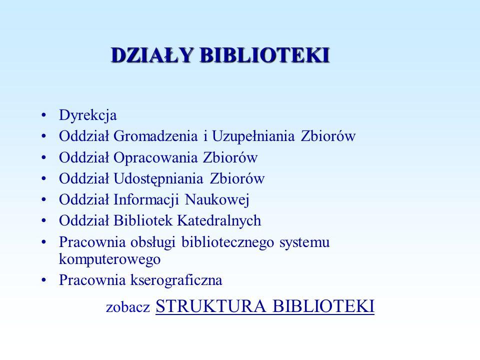 zobacz STRUKTURA BIBLIOTEKI