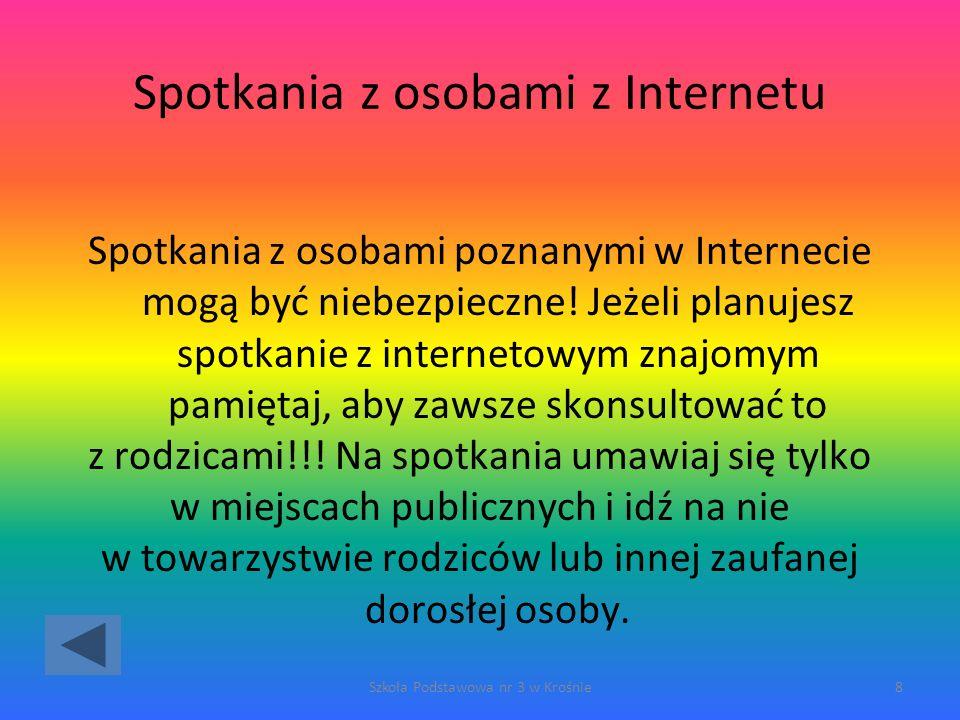 Spotkania z osobami z Internetu