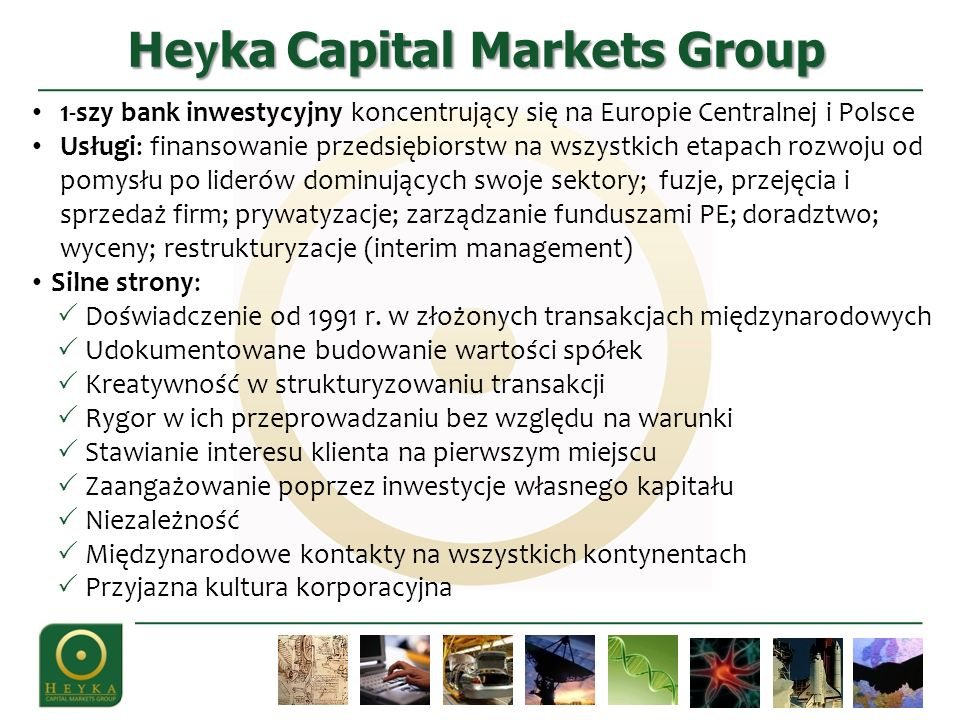 Heyka Capital Markets Group