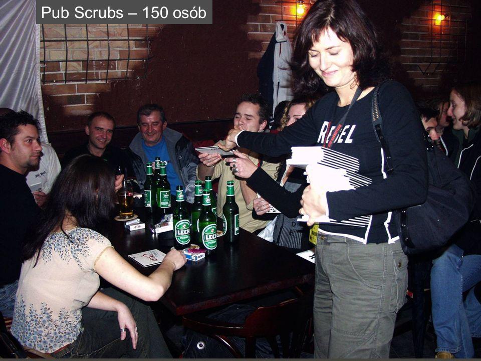 Pub Scrubs – 150 osób