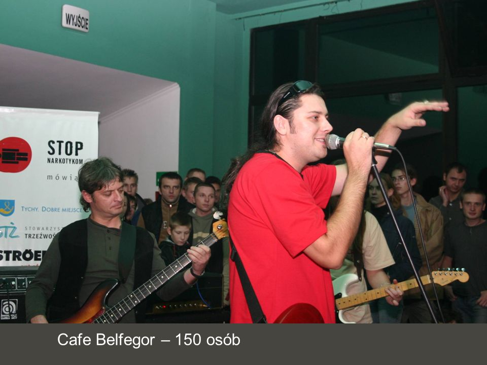 Cafe Belfegor – 150 osób