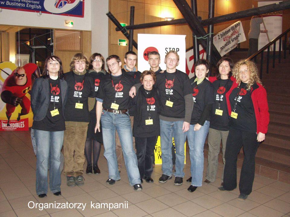 Organizatorzy kampanii