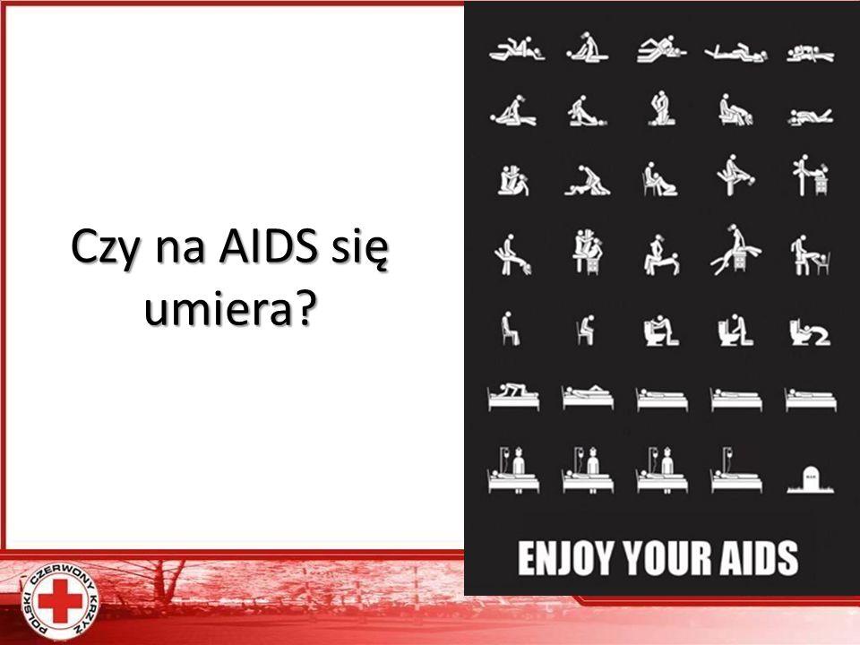 Czy na AIDS się umiera