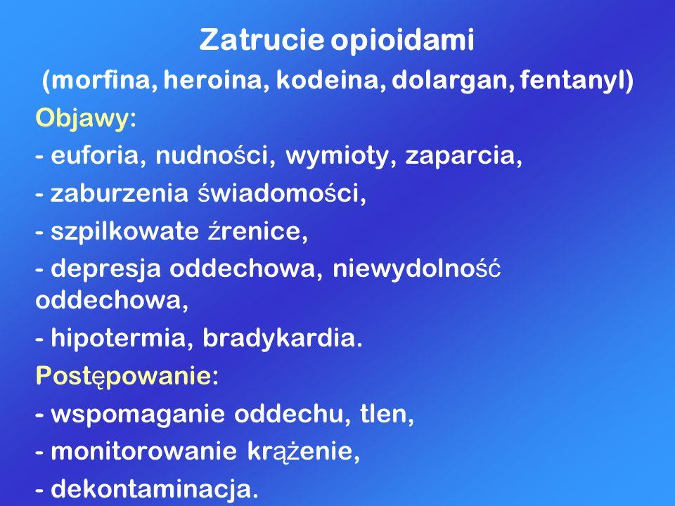 (morfina, heroina, kodeina, dolargan, fentanyl)