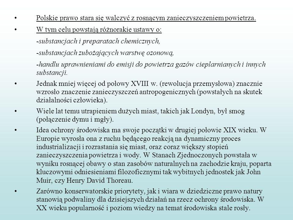 Polskie prawo stara się walczyć z rosnącym zanieczyszczeniem powietrza.