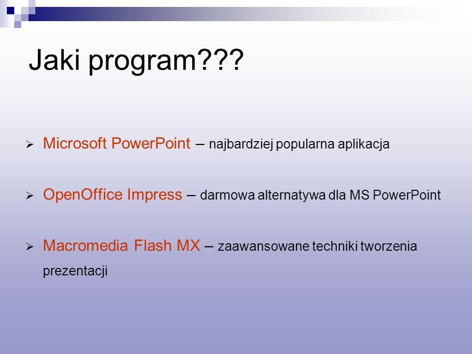 Jaki program Microsoft PowerPoint – najbardziej popularna aplikacja