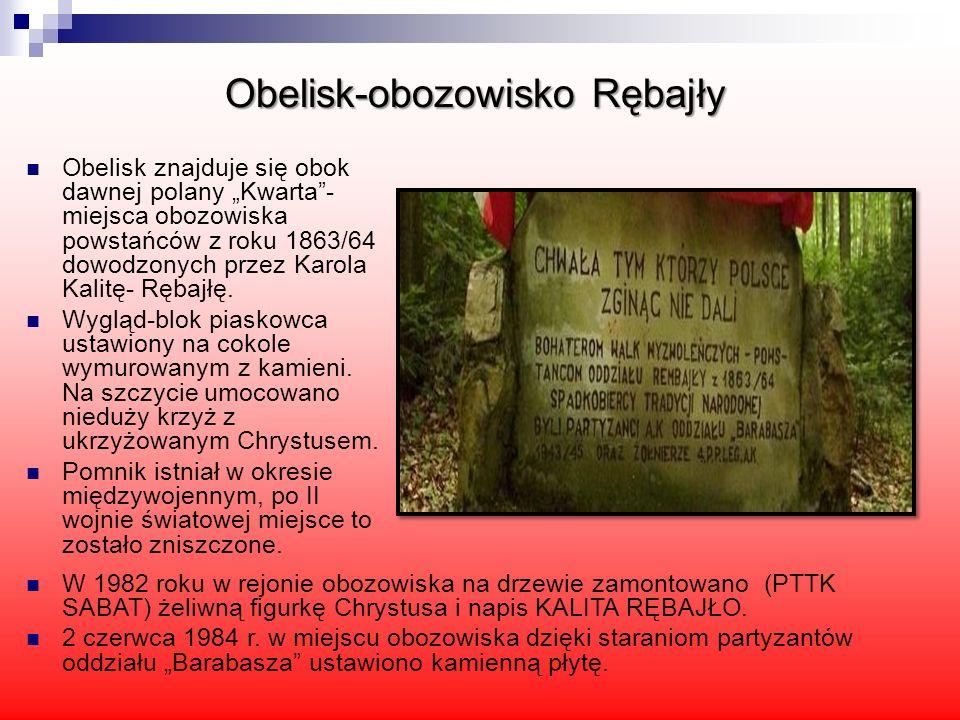 Obelisk-obozowisko Rębajły