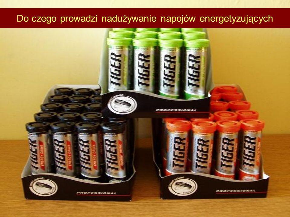 Do czego prowadzi nadużywanie napojów energetyzujących