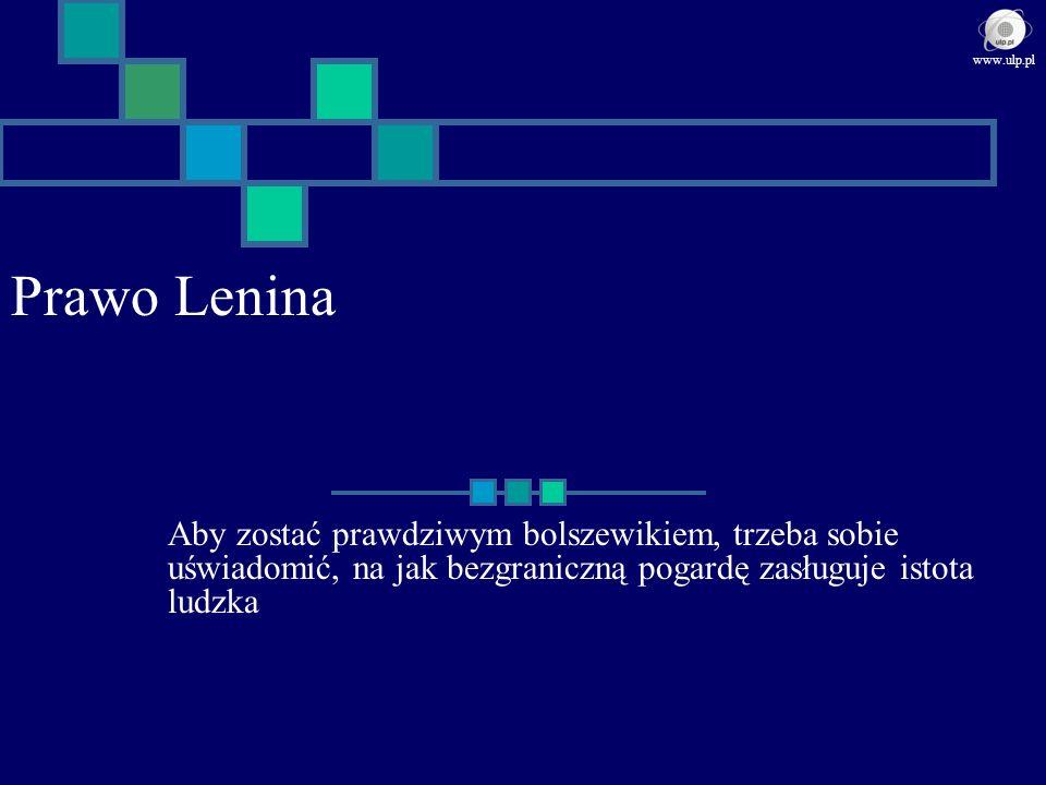 www.ulp.pl Prawo Lenina.