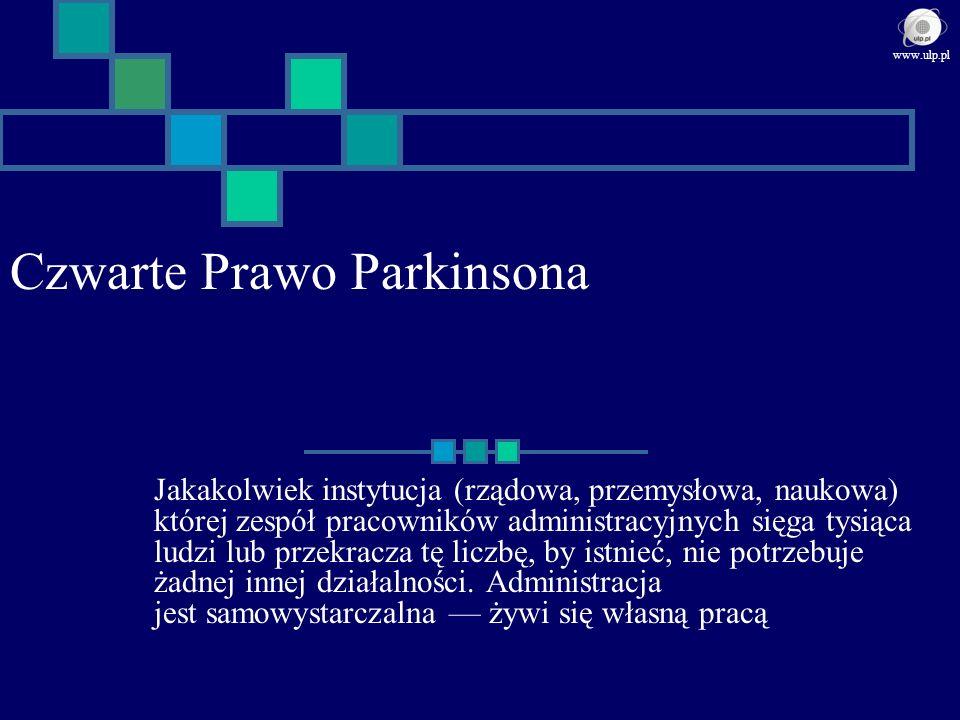 Czwarte Prawo Parkinsona