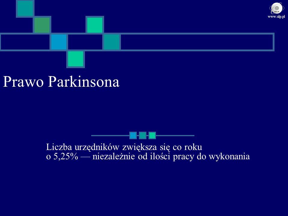 www.ulp.pl Prawo Parkinsona.