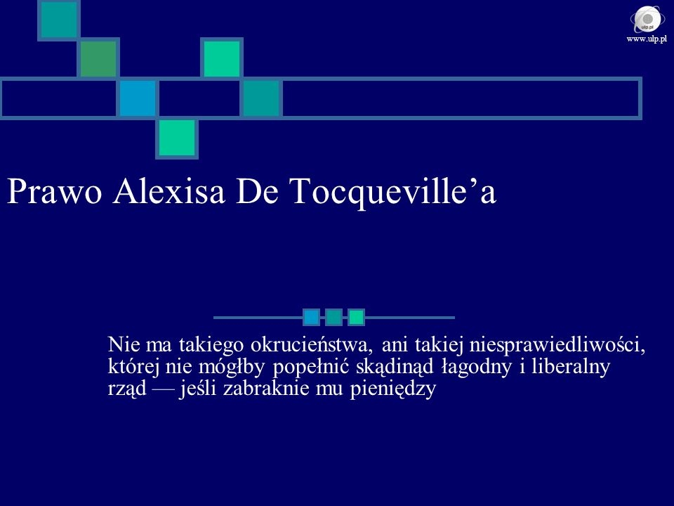 Prawo Alexisa De Tocqueville'a
