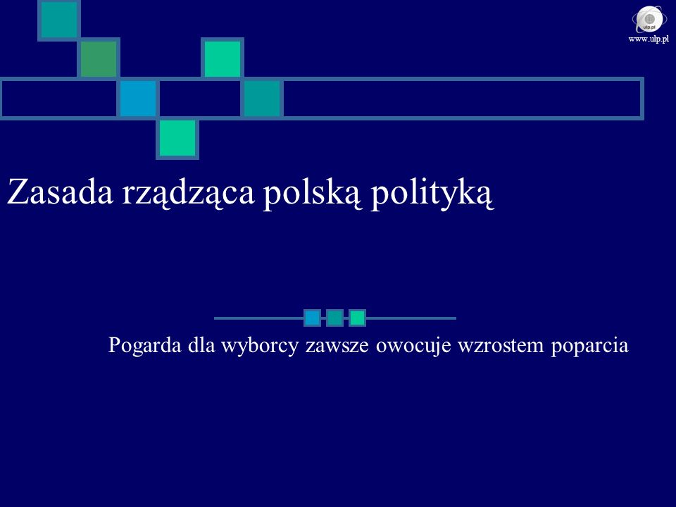 Zasada rządząca polską polityką