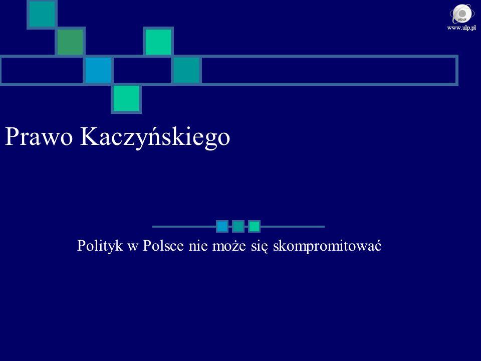 Polityk w Polsce nie może się skompromitować