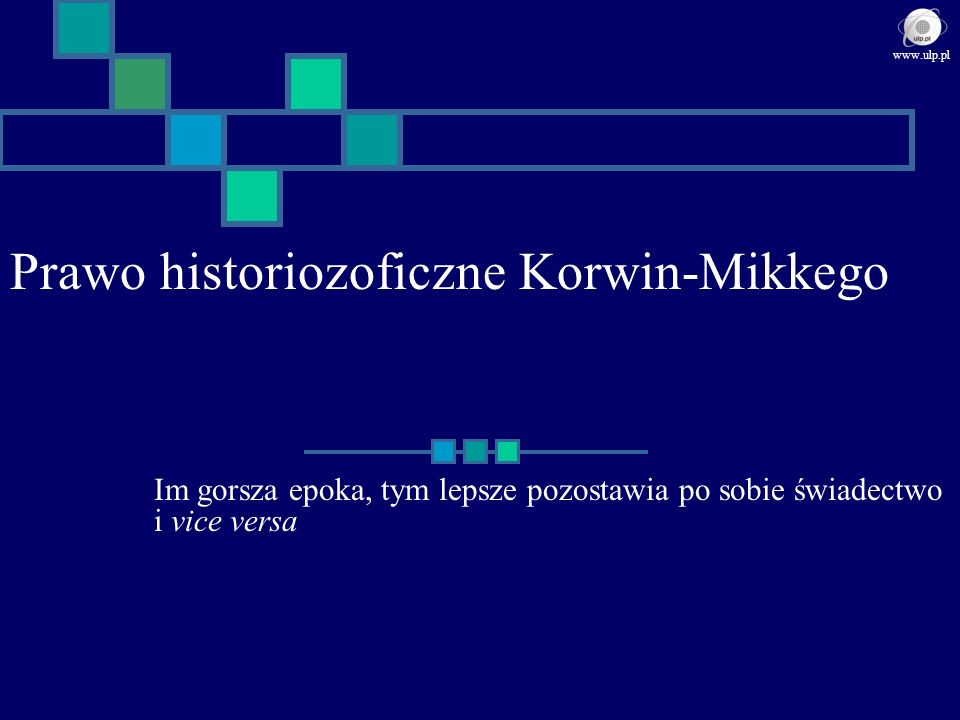 Prawo historiozoficzne Korwin-Mikkego