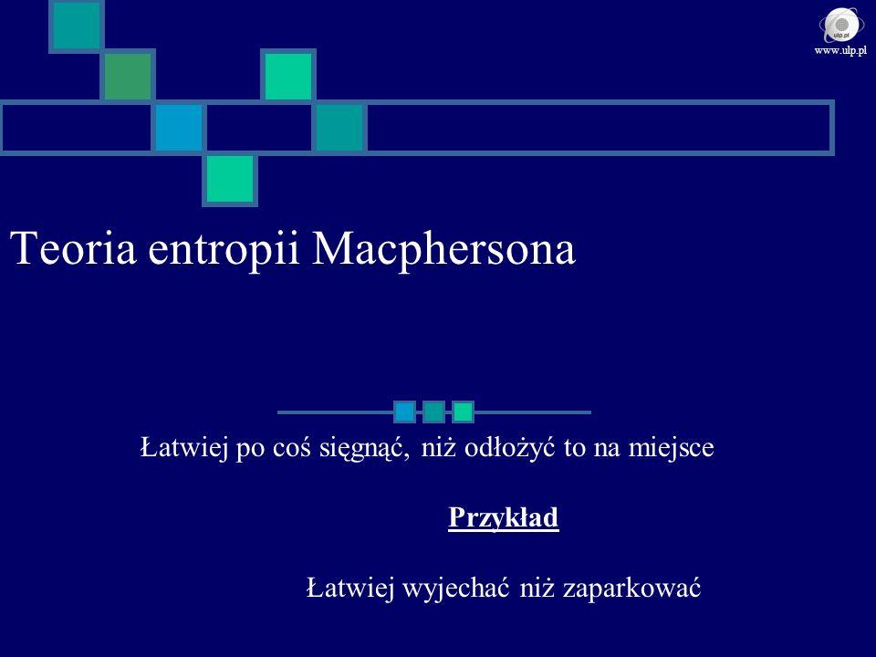 Teoria entropii Macphersona