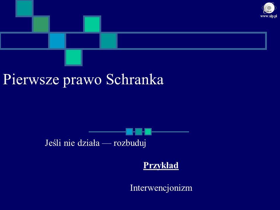 Pierwsze prawo Schranka