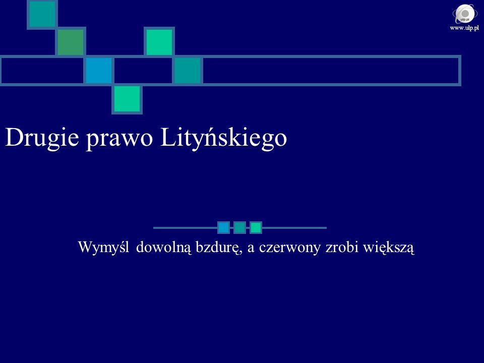 Drugie prawo Lityńskiego