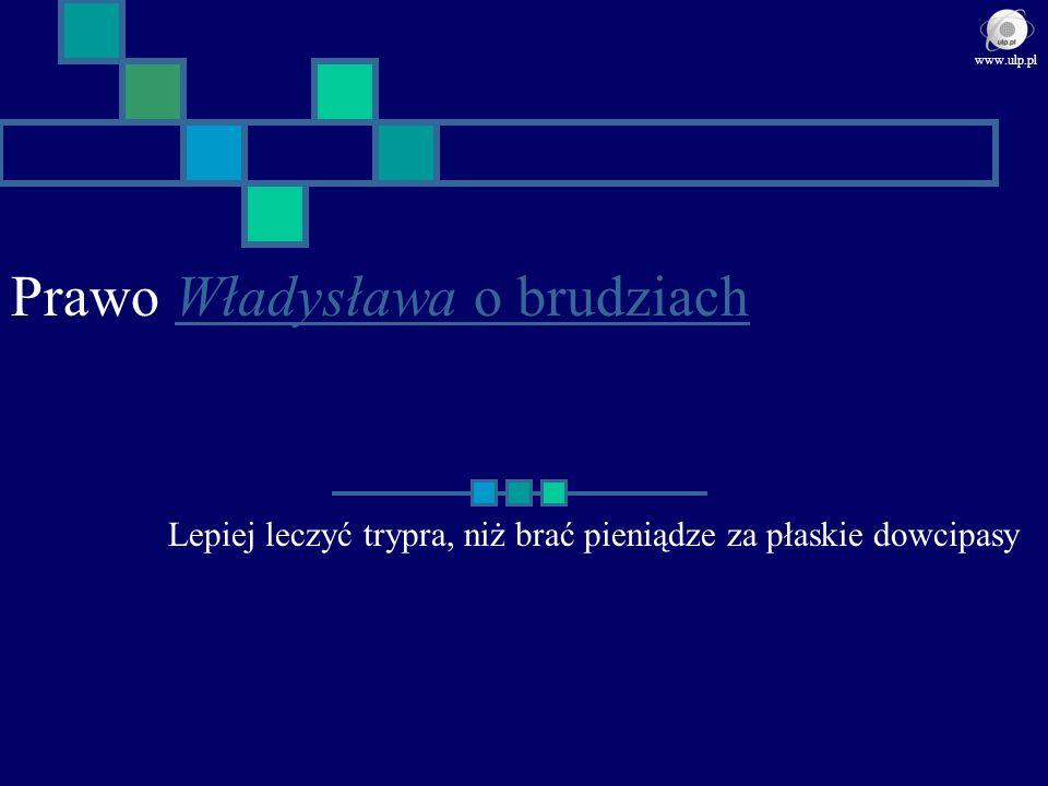 Prawo Władysława o brudziach