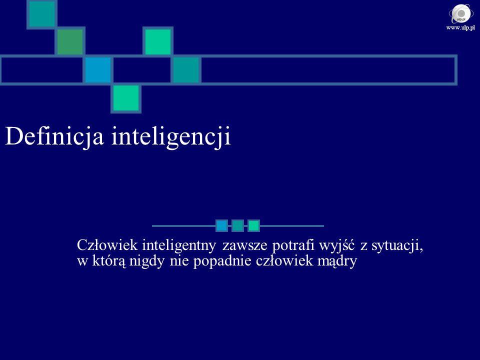 Definicja inteligencji