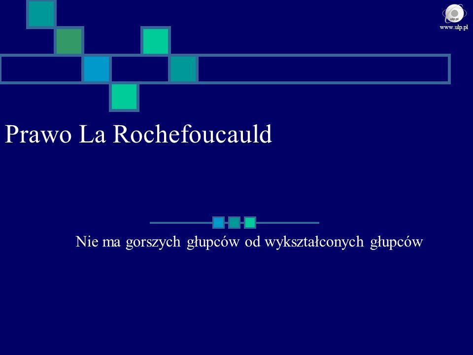 Prawo La Rochefoucauld