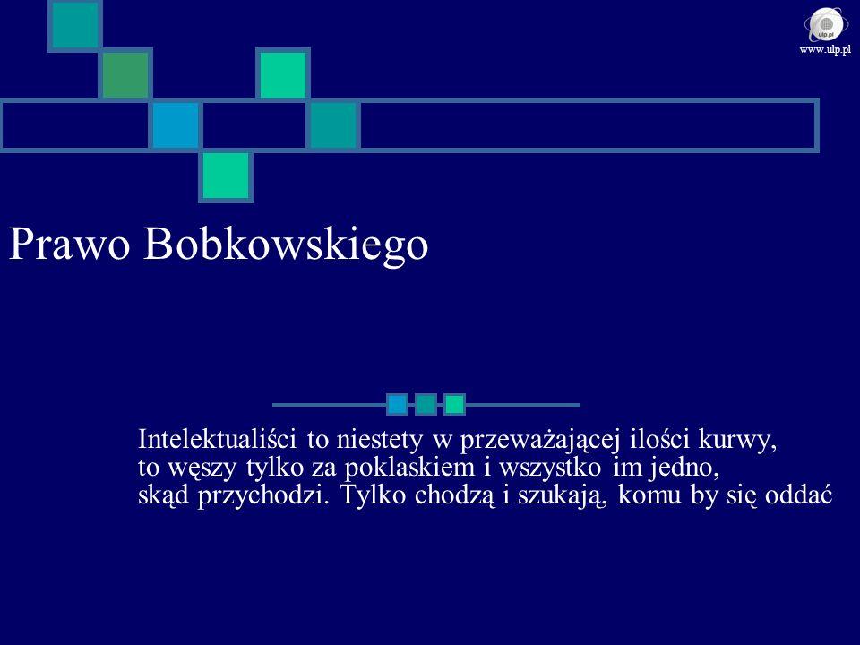 www.ulp.pl Prawo Bobkowskiego.