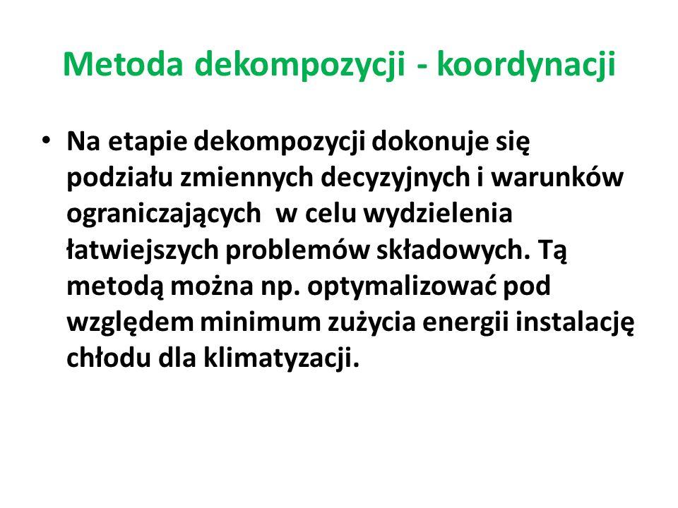 Metoda dekompozycji - koordynacji
