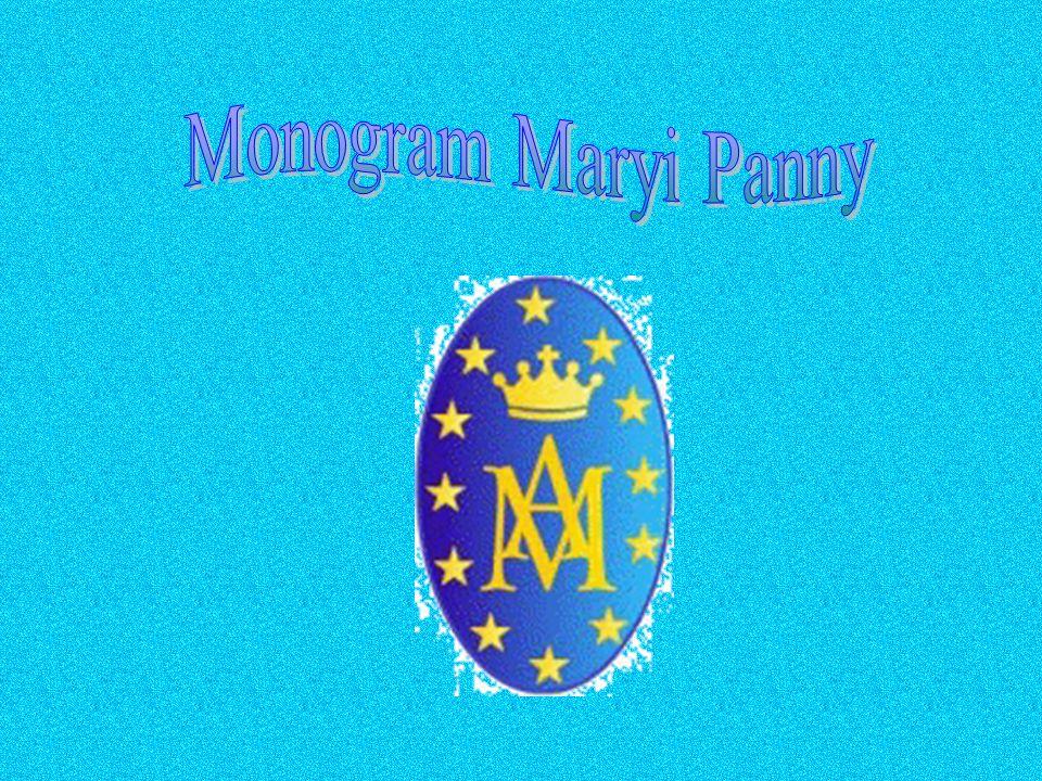 Monogram Maryi Panny