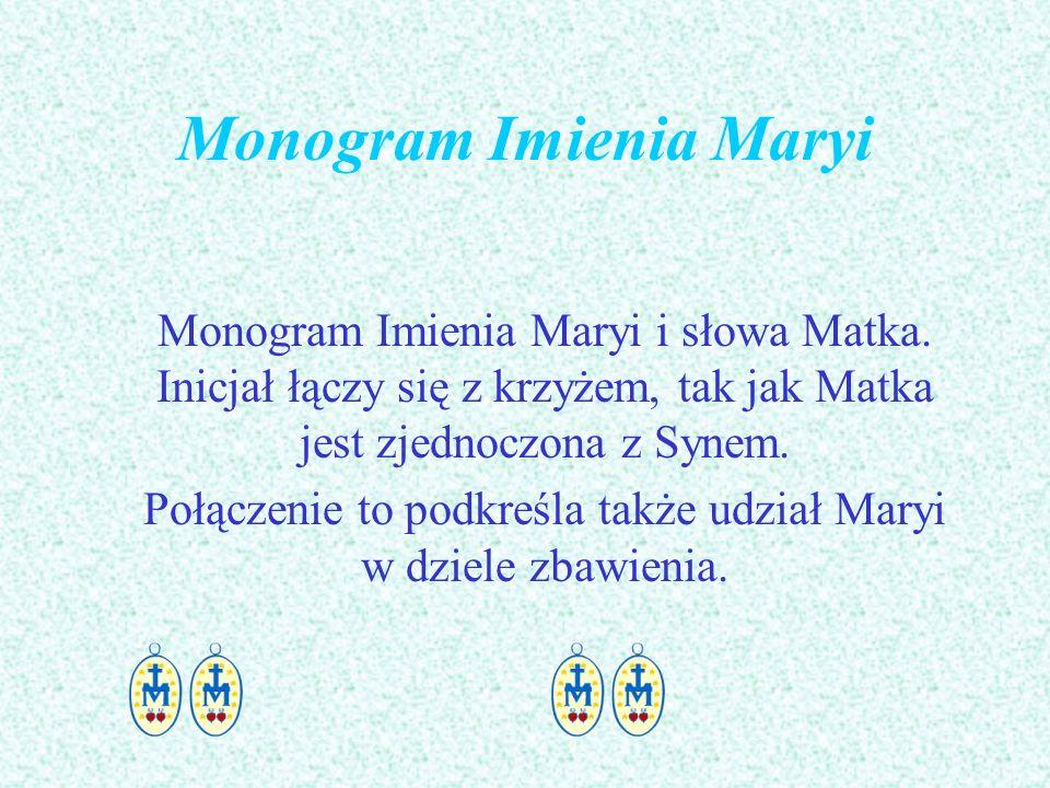 Monogram Imienia Maryi