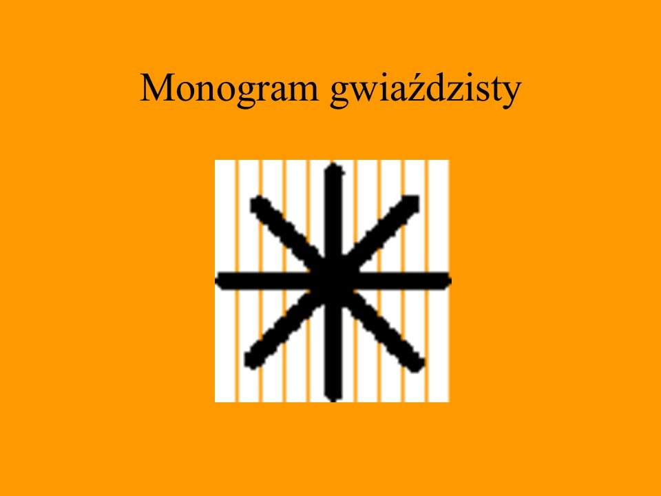 Monogram gwiaździsty