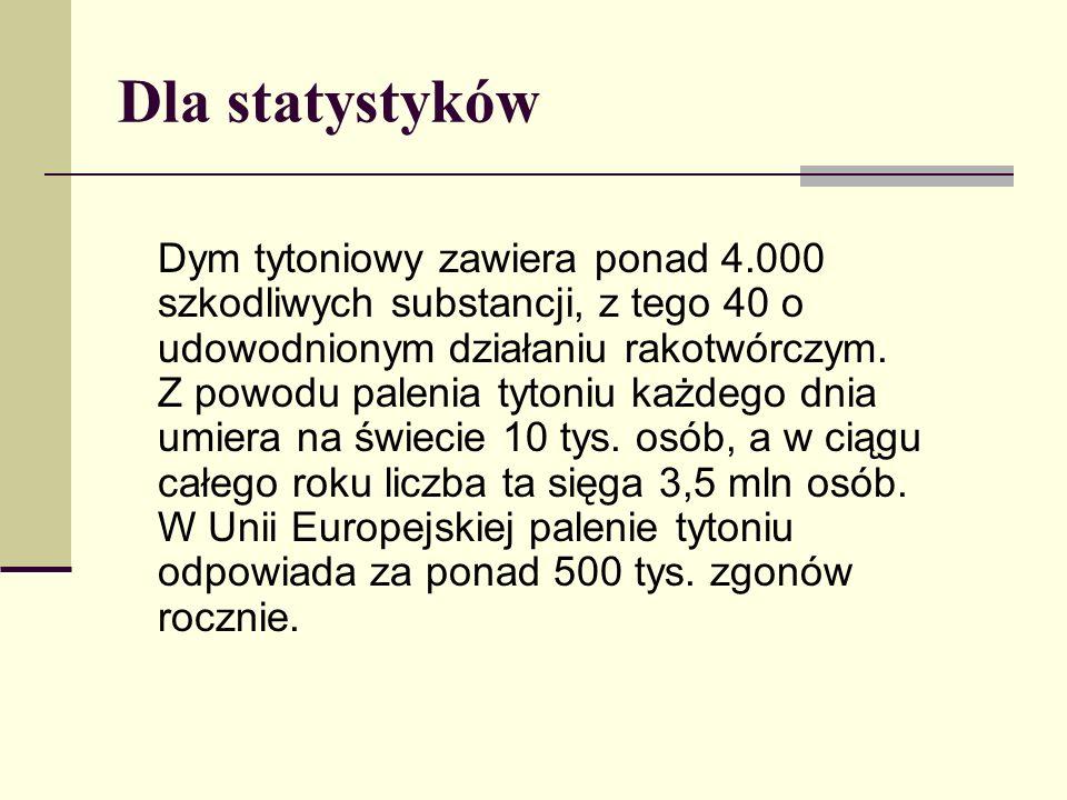 Dla statystyków