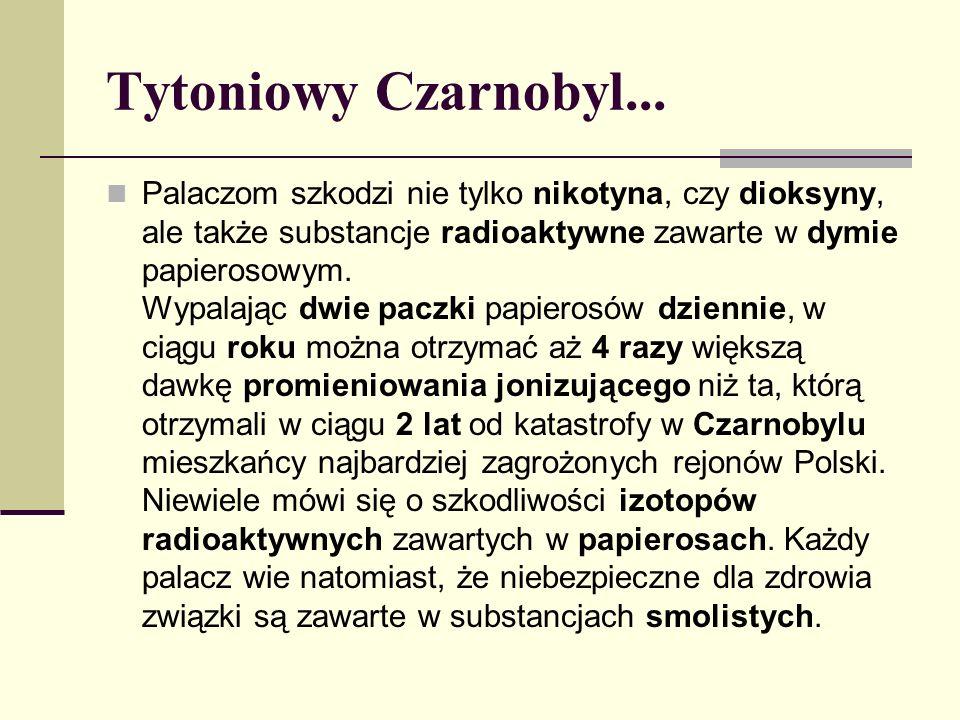 Tytoniowy Czarnobyl...