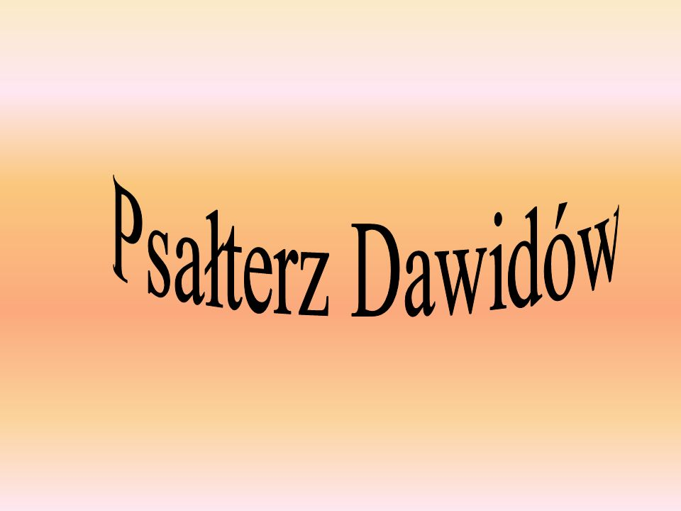 Psałterz Dawidów