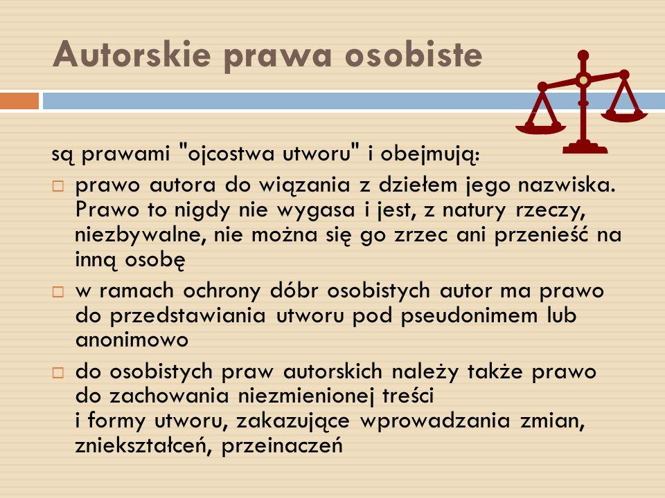 Autorskie prawa osobiste