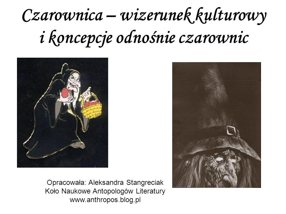 Czarownica – wizerunek kulturowy i koncepcje odnośnie czarownic