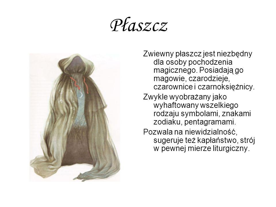 Płaszcz Zwiewny płaszcz jest niezbędny dla osoby pochodzenia magicznego. Posiadają go magowie, czarodzieje, czarownice i czarnoksiężnicy.