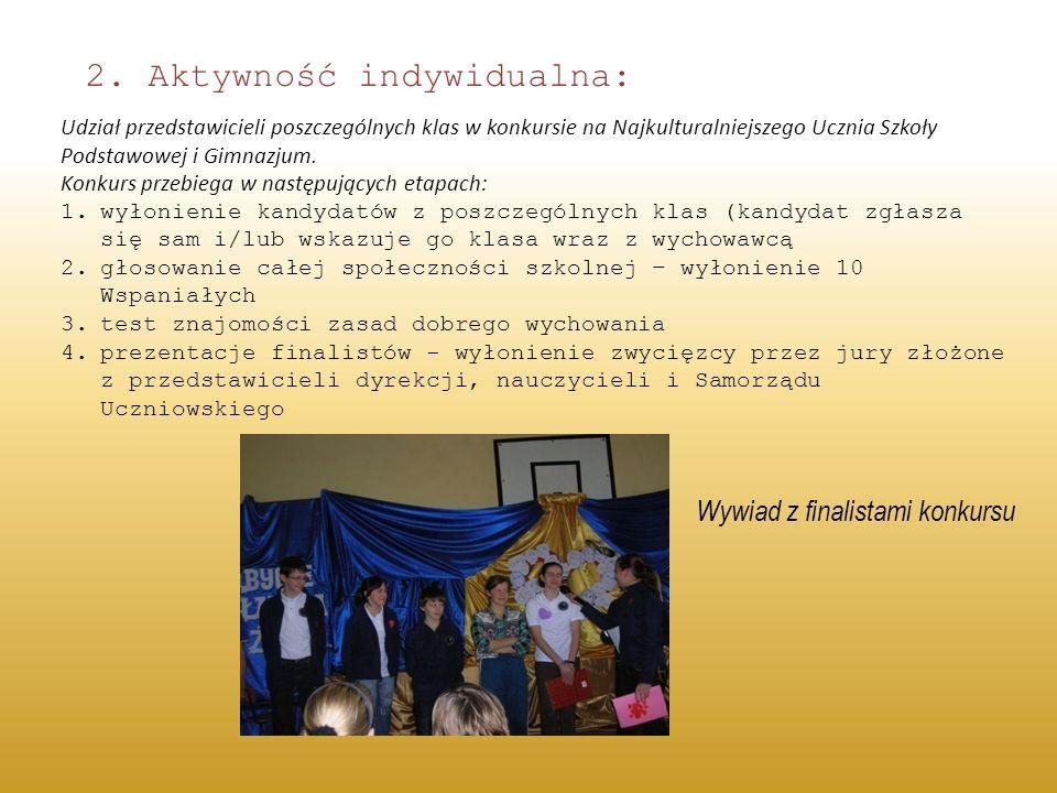 2. Aktywność indywidualna: