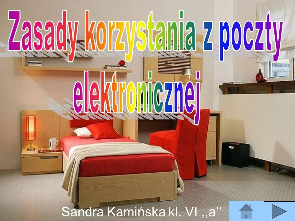Sandra Kamińska kl. VI ,,a''