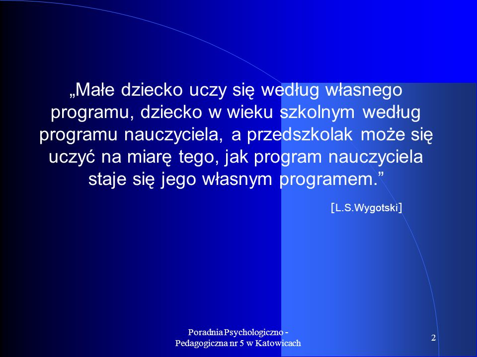 Poradnia Psychologiczno - Pedagogiczna nr 5 w Katowicach