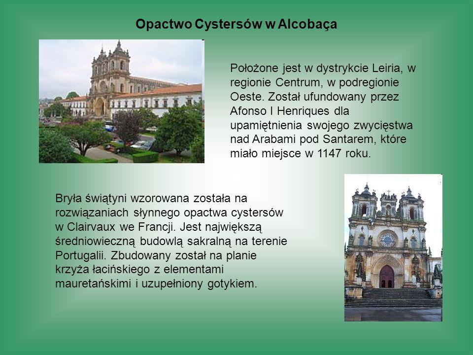 Opactwo Cystersów w Alcobaça
