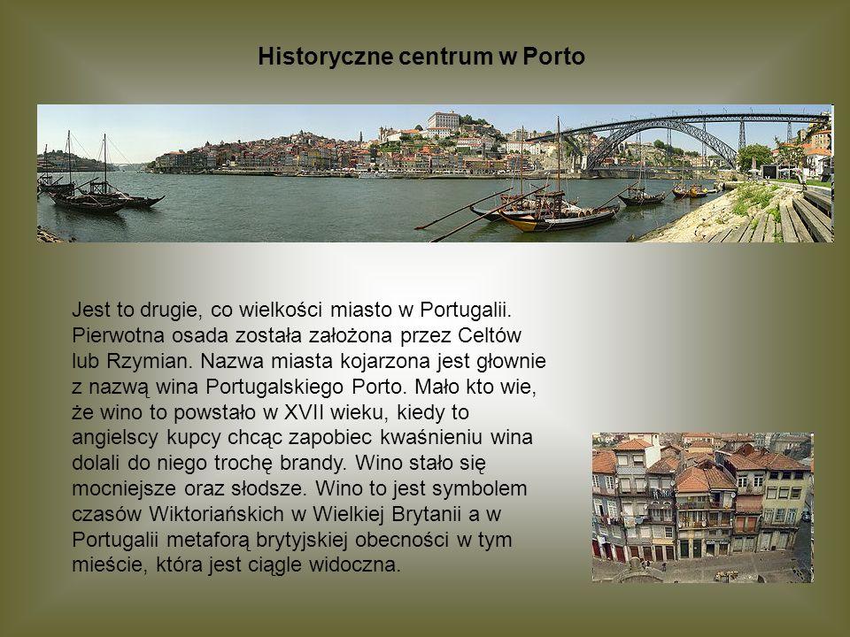 Historyczne centrum w Porto