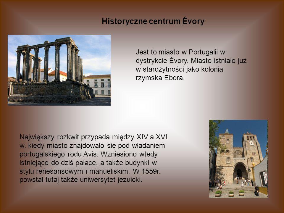Historyczne centrum Évory