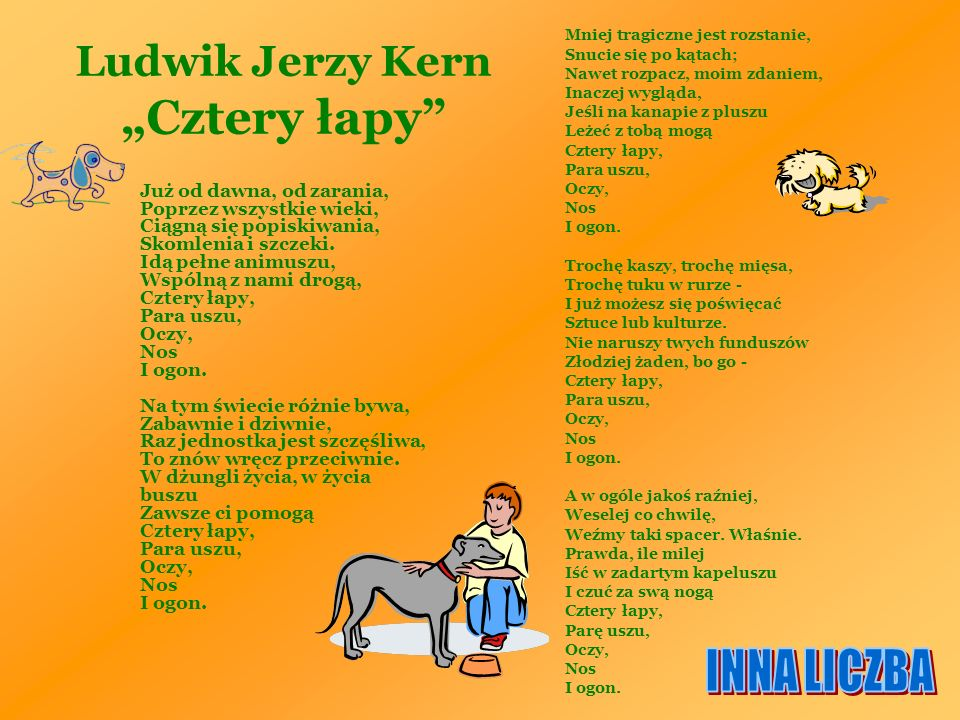 """Ludwik Jerzy Kern """"Cztery łapy"""