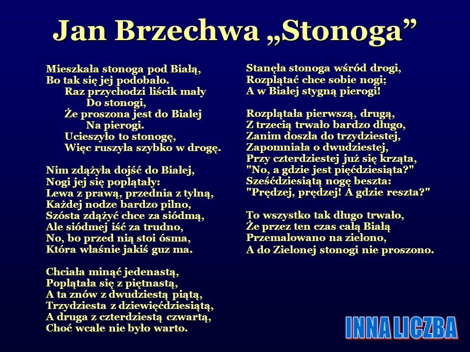 "Jan Brzechwa ""Stonoga"