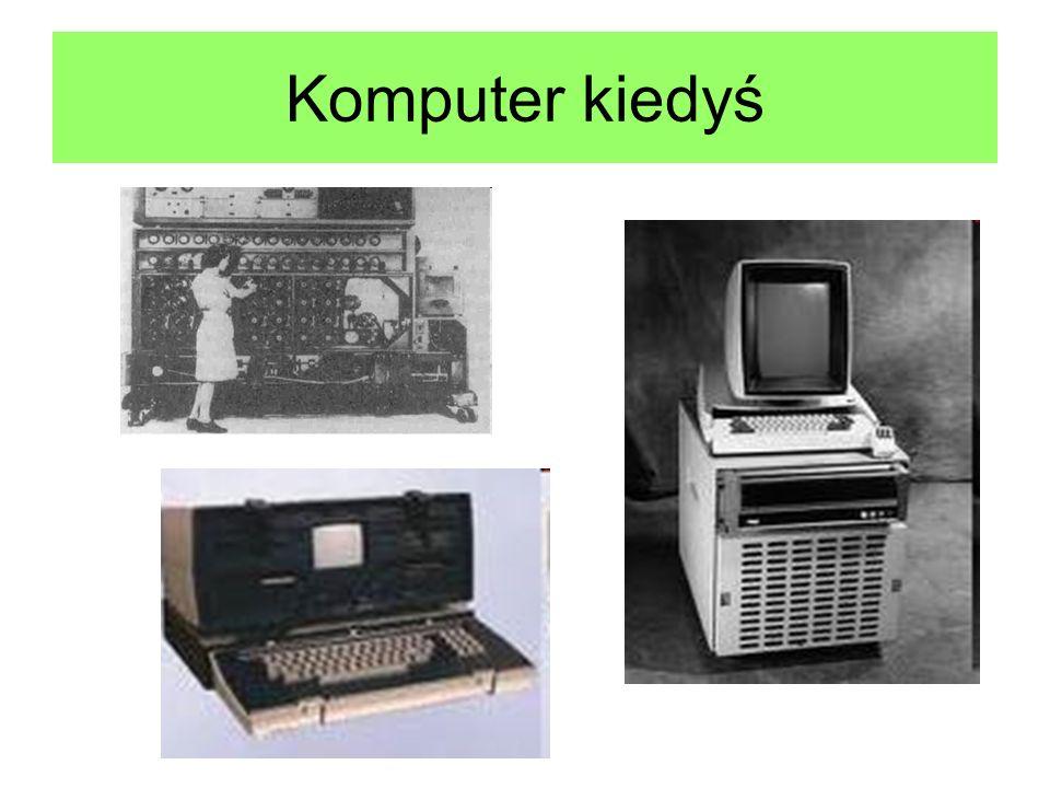 Komputer kiedyś