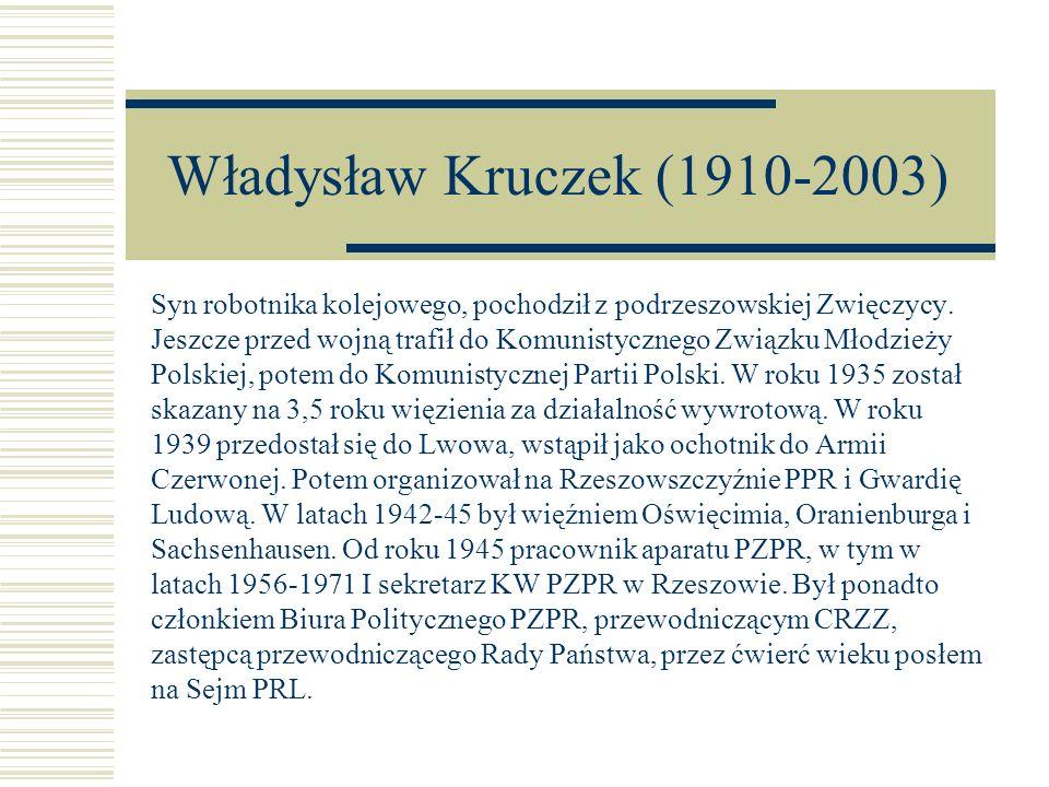 Władysław Kruczek (1910-2003)