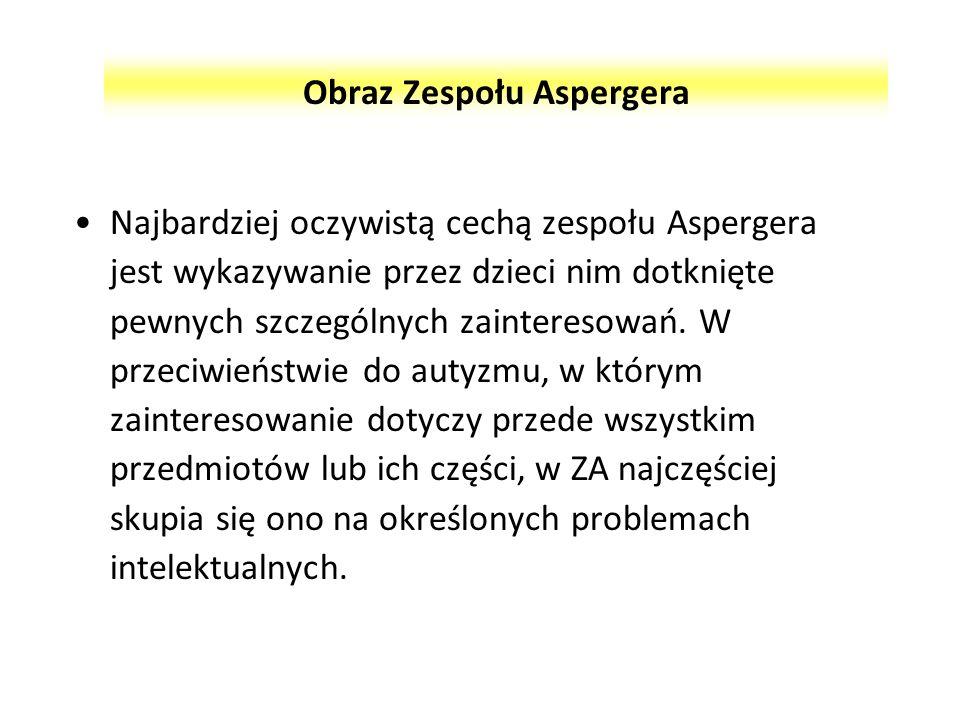 Obraz Zespołu Aspergera